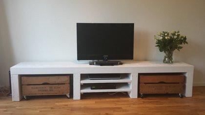 Inspiratie xsteigerhout - Fotos van woonkamer meubels ...
