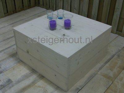 Steigerhout hocker bauwpakket xsteigerhout for Bouwpakket steigerhout
