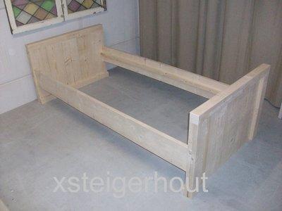 Bed bouwpakket xsteigerhout for Bouwpakket steigerhout